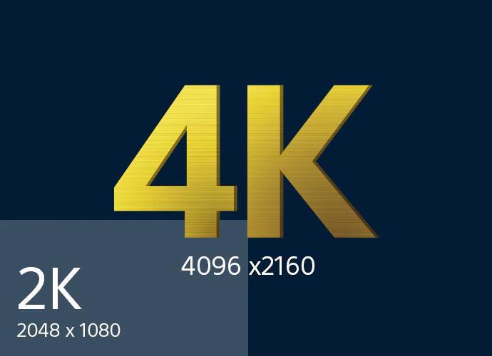 پروژکتور سینمای دیجیتال 4k