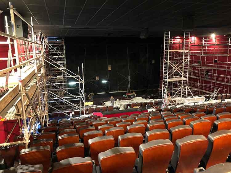 تجهیزات فنی مورد نیاز برای سالن سینمایی