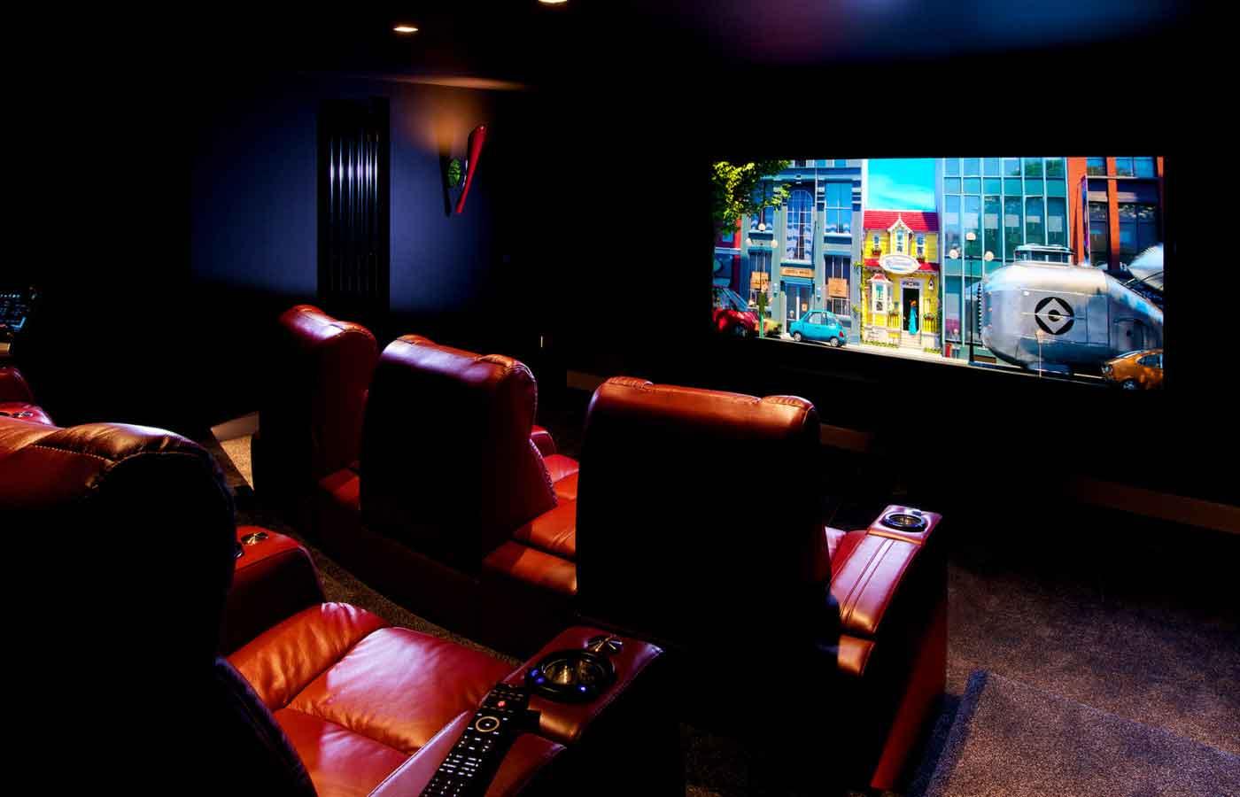 تجهیز سینمای خانگی